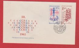 Tchecoslovaquie  --  Enveloppe Praha  24/5/1965 - Tschechoslowakei/CSSR