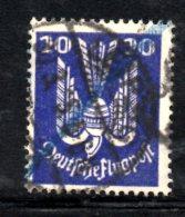 GERMANIA IMPERO 1924 , Posta Aerae  N . 22  Usato - Poste Aérienne