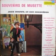 JACK DAUVIL ET SON ACCORDEON - SOUVENIRS DE MUSETTE - 33 T - (MUSIDISC - Collection Variété - 30 CV 909) - Instrumental