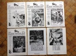 Fanzines Italiens ERB World D Edgar Rice Burroughs Tarzan John Carter - Livres, BD, Revues