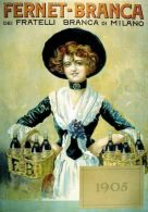 Postcard - Poster Reproduction - Aperitivo Fernet-Branca Milano 1905 (N0531) - Advertising