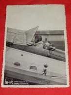 S. M. Le Roi Léopold III Aviateur - Propagande Aéronautique    (2 Scans) - Familles Royales