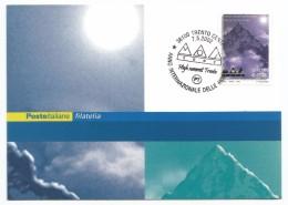 "2002, Poste Italiane - Trento- "" Anno Internazionale Delle Montagne"". - Cartes-Maximum (CM)"