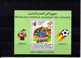 Comores YT Bloc 29 XX/MNH (Football) - Comoros