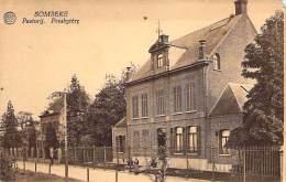 Sombeke - Pastorij. Presbytère. - Uitgeverij Hofman, Kruideniershandel, Sombeke. - Waasmunster