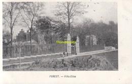 CPA  FOREST VILLA ELISA VED PUB COLUMBA MARGARINE CH VAN DEN BUSSCHE MERXEM - Forest - Vorst