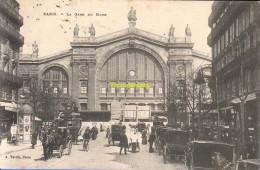 CPA 75 PARIS LA GARE DU NORD - Métro Parisien, Gares
