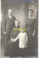 CARTE DE PHOTO FAMILLE SAINT GHISLAIN 1917 - Saint-Ghislain