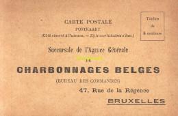 CPA CHARBONNAGES BELGES BRUXELLES - Petits Métiers