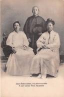 ¤¤  -  COREE   -  Jeune Prêtre Coréen, Son Père Et Sa Mère  -  A New Corean Priest His Parents   -  ¤¤ - Corée Du Sud