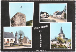 63. Gf. Bonjour De LARODDE. 4 Vues. 363 - France