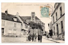 Oise : Saint-Leu D'Esserent : La Mairie - Sonstige Gemeinden