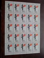 40e Foire Internationale Bruxelles 1967 : Vel Van 25 Zegels ( Sluitzegels : Zie/voir Foto Voor/pour Détails ) !! - Belgique