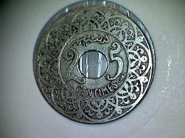 Maroc 25 Centimes 1921 - Maroc