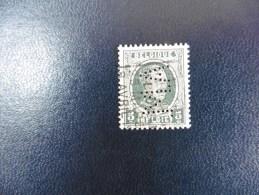 Belgique :Timbre N°193   Perforé  M.A  Oblitéré - 1934-51