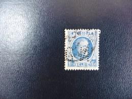 Bnelgique :Timbre N° 257    Perforé  J.S.C  Oblitéré - 1934-51