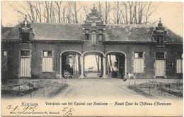 Hemixem NA1: Avant Cour Du Château D'Hemixem 1905 - Hemiksem