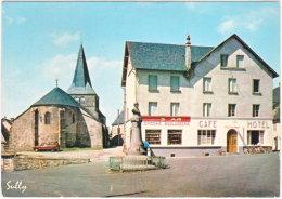 63. Gf. LARODDE. La Place, L'Eglise, L'Hôtel. 1007 (monument Aux Morts) - Autres Communes