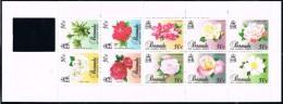Bermuda SG SB4 1989 Old Garden Roses (3rd Series) Booklet Unmounted Mint - Bermudes