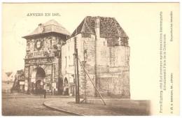 ANVERS EN 1865 -- Porte Kipdorp,côté Sud Intérieur,après Démolition Des Remparts-- Actuellement Place De La Commune - Antwerpen