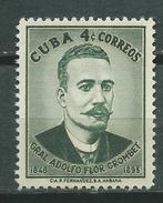 CUBA  Scott# 614 ** MNH  Set General Adolfo Flor Crombet - Cuba