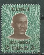 CUBA  Scott# 666 ** MNH  Set Jesus Menendez & Sugar - Cuba