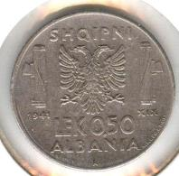 Albania 0,5 Lek 1941 - Albania