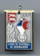 Médaille/ Foot-Ball/FFF/ Ligue De Football De Normandie /Coupe Normandie Junior/Finaliste// 1987-88          SPO100 - Soccer
