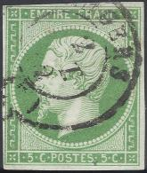 FRANCE 1852 NAPOLEON 5c Nº 12 - 1853-1860 Napoléon III
