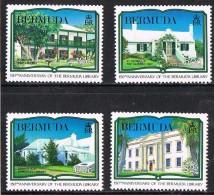 Bermuda SG599-602 1989 150th Anniversary Of Bermuda Library Set 4v Complete Unmounted Mint - Bermuda