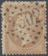 FRANCE 1862 10c Nº 21 PAYZAC  2802 INDICE 12 - 1862 Napoleon III