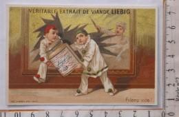 Chromo Fin 19° LIEBIG / S 136 / S136  / Testu & Massin / Pierrot Vitrine Cassée Vol Grand Pot / Filons Vite - Liebig