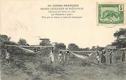 A-16 8004 : CONGO FRANCAIS MISSION CATHOLIQUE DE BRAZZAVILLE  HAMAC - Congo Français - Autres