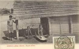A-16 8012 : CONGO FRANCAIS  CASE MBOCHI MOYEN-ALIMA - Congo Français - Autres