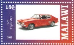 Ford Capri MkI  -  Timbre Neuf - Mint Stamp  -  1v MNH - Autos