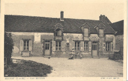 CPA Blunay - Café Hutpin - Zonder Classificatie