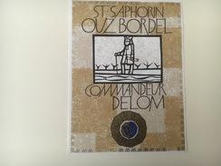 771 - Suisse Vaud St-Saphorin Ouz Bordel Commandeur Delom  Propriété Hôpital De Vevey - Etiquettes
