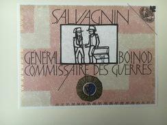 772 - Suisse Vaud Salvagnin Général Boinod Commissaore Des Guerres  Propriété Hôpital De Vevey - Autres