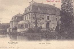 Ruisbroek - Het Groot Kasteel (Nels, 1902) - Sint-Pieters-Leeuw