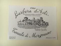 776 -  Italie Barbera D'Asti Tenuta Di Morgnano - Etiquettes