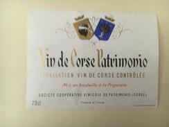 778 -  Vin De Corse Patrimonio - Rouges