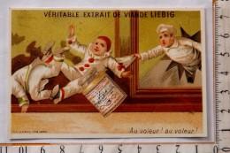 Chromo Fin 19° LIEBIG / S 136 / S136  / Testu & Massin / Pierrot Marmiton Vitrine Cassée Vol / Au Voleur - Liebig
