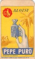 """D4341 """"ALOISY - PEPE PURO  - CAFFE' D'ORZO FALCO - ROMA"""" ANIMATO, PUBBLIC. 0RIGINALE - Pubblicitari"""