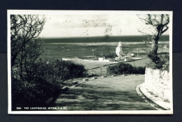 ENGLAND  -  Isle Of Wight  Niton  The Lighthouse  Used Postcard - Other