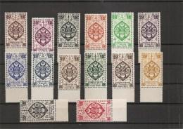 Inde Française ( 217/230 XXX -MNH) - India (1892-1954)