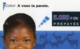 RECHARGE GSM/SIM CONGO  5.000 F CFA Celtel - Congo