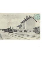 GRÉASQUE - La Gare, L'arrivée Du Train - France