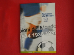 Italia Folder 2004 Campioni Mondo Calcio Catalogo 2012 € 20,00 Prezzo Di Copertina € 11 - Folder