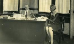 USA Chicago Aviation Service & Transport Bureau Du President Ancienne Photo 1925 - Aviation