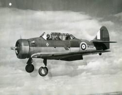 Aviation Avion RAF North American Harvard MK 1 N7033 Ancienne Photo 1941 - Aviation